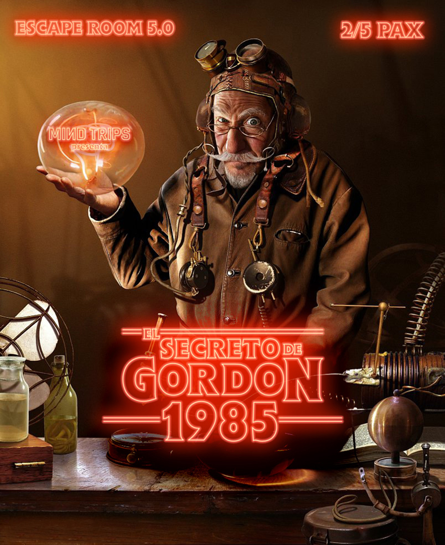 Poster El Secreto De Gordon 1985